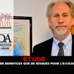 ÉTUDE : Plus de bénéfices que de risques pour l'e-cigarette