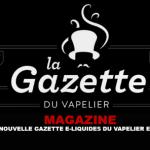מגזין: החדש e- נוזלי גזטה של Vapelier הוא כאן!