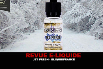 REVIEW: JET FRESH (PREMIUM RANGE) BY ELIQUID FRANCE