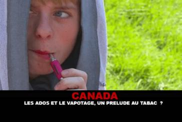 קנדה: בני נוער ו vaping, הקדמה טבק?