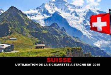 SWITZERLAND: Use of the e-cigarette has stagnated in 2015