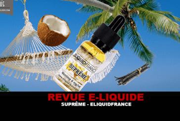 REVUE: SUPREME (PREMIUM RANGE) BY ELIQUIDFRANCE