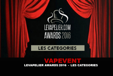 VAPEVENT: LEVAPELIER.COM AWARDS 2016 - Categories