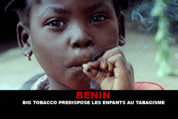 BENIN: The tobacco industry predisposes children to smoking.