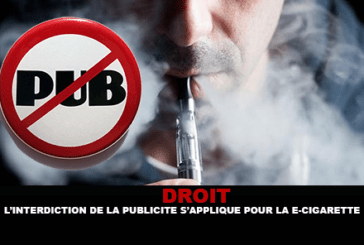 LAW: The ban on advertising applies to the e-cigarette!