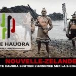 NEW ZEALAND: Hapai Te Hauora поддерживает объявление об электронной сигарете!