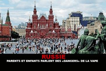 RUSSIE : Parents et enfants parlent des «dangers» de la vape.