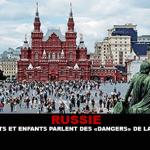 RUSSIE : Parents et enfants parlent des « dangers » de la vape.