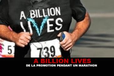 חיי מיליארד דולר: קידום במרתון!