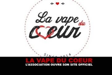 VAPE DU COEUR : L'association ouvre son site officiel.