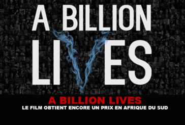 A BILLION LIVES: The film still gets an award in South Africa.