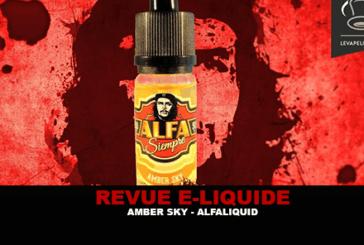REVUE : AMBER SKY (GAMME ALFA SIEMPRE) PAR ALFALIQUID