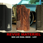 סקירה: LUX DOOAL 26650 BOX על ידי IJOY ו להגביל MOD CO