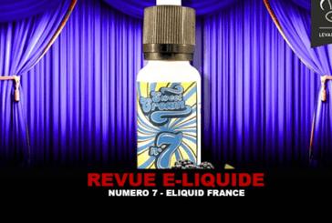 REVUE : N°7 (GAMME SWEET CREAM) PAR ELIQUID FRANCE