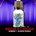 סקירה: מס '7 (טווח קרם מתוק) על ידי נוזלים בצרפת