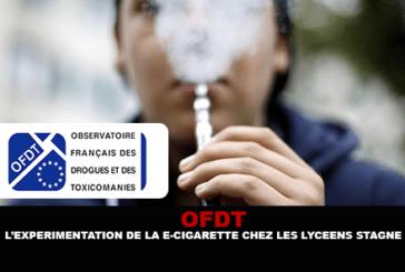 OFDT: la sperimentazione della sigaretta elettronica tra gli studenti delle scuole superiori ristagna.