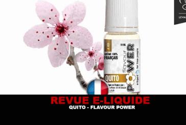 ОБЗОР: QUITO (50 RANGE / 50) от FLAVOR POWER