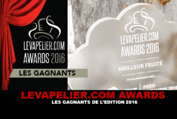 LEVAPELIER.COM AWARDS: The winners of the 2016 edition!