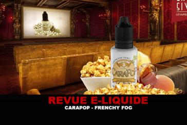 REVUE : CARAPOP (GAMME SUBTILITÉ) PAR FRENCHY FOG