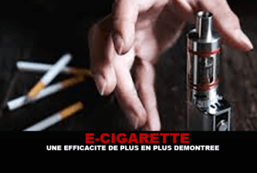 E-CIGARETTE: Efficiency more and more demonstrated