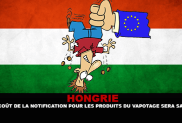 HUNGARY: The cost of notification for vaping products will be salted.
