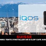 SUISSE : Philip Morris tente d'installer un e-clop café avec son IQOS.
