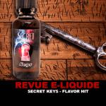 REVUE : SECRET KEYS (GAMME SECRET) PAR FLAVOR HIT