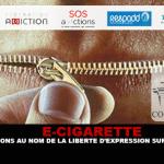 E-SIGARETTA: azioni in nome della libertà di espressione sullo svapo.