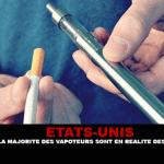 ÉTATS-UNIS : Selon le CDC, la majorité des vapoteurs sont en réalité des vapofumeurs.