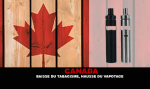 CANADA: Decline in smoking, increased vaping.