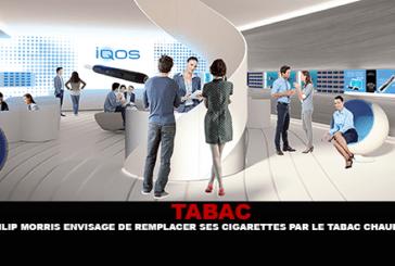 TABAC : Philip Morris envisage de remplacer ses cigarettes par le tabac chauffé.