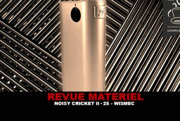 REVUE : NOISY CRICKET II-25 PAR WISMEC