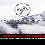 NIEUW-ZEELAND: AVCA verkrijgt liefdadigheidsstatus.