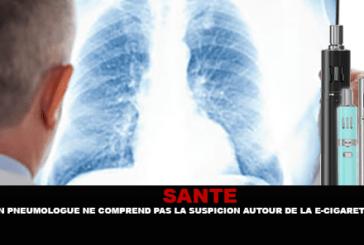 SALUTE: un pneumologo non capisce il sospetto intorno alla sigaretta elettronica.