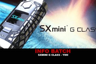 INFO BATCH : SXmini G Class (YIHI)