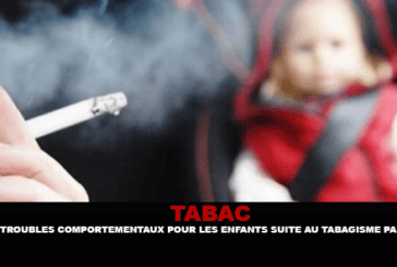 TOBACCO: Behavioral disorders for children following passive smoking?