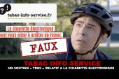 TABAC INFO SERVICE : Un soutien très relatif à la cigarette électronique.