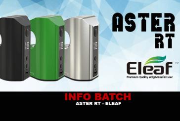 INFORMAZIONI SUL LOTTO: Aster RT (Eleaf)