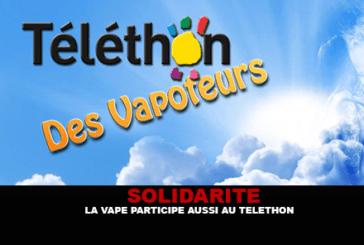 SOLIDARITE : La vape participe aussi au Téléthon