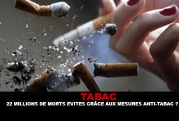 TABACCO: 22 milioni di morti evitati grazie alle misure antifumo?