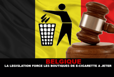 BELGIUM: Legislation forces e-cigarette shops to throw away