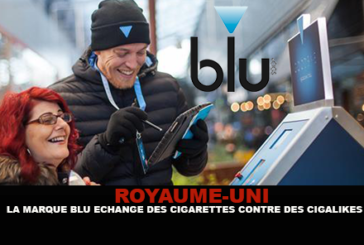 "UNITED KINGDOM: The ""Blu"" brand is trading cigarettes for cigalikes."