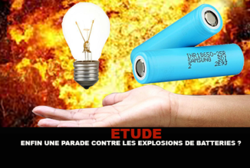 STUDY: Finally a parade against explosions of batteries for e-cigarette?