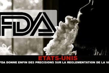 USA: la FDA fornisce finalmente dettagli sui negozi sulla regolamentazione della sigaretta elettronica.