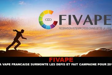 FIVAPE : La vape Française surmonte les défis et fait campagne pour 2017.