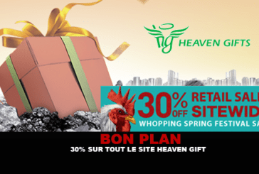 GOOD PLAN: 30% on all Heaven Gift website until 3 February