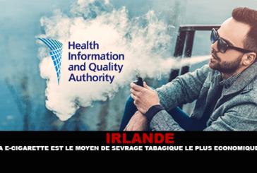 IRLANDA: La sigaretta elettronica è il modo più economico per smettere di fumare?