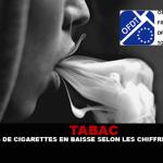 TABAC : Les ventes de cigarettes en baisse selon les chiffres de l'OFDT.