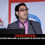 PAKISTAN : Un pneumologue déclare la e-cigarette nocive pour la santé.