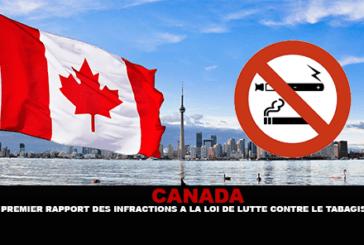 CANADA: un primo rapporto sui reati contro la legge per combattere il fumo.